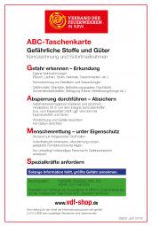 ABC-Taschenkarte