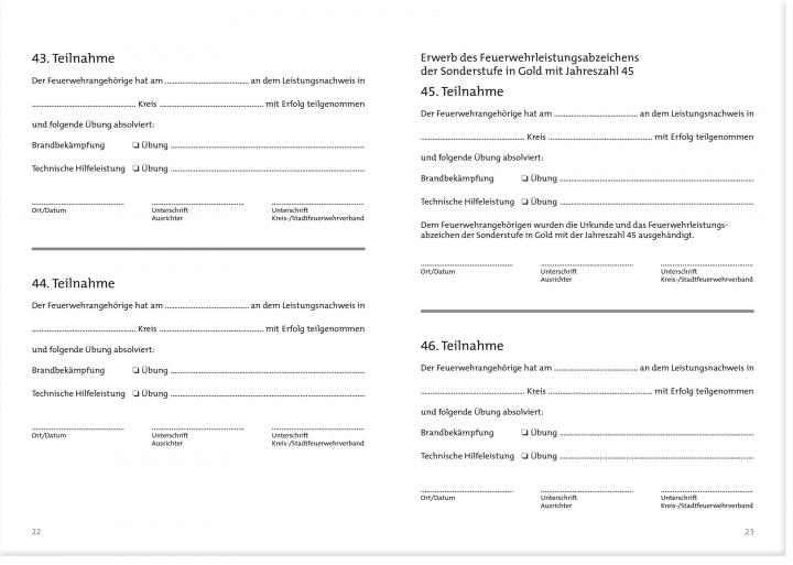 Leistungsnachweis Nachweisheft | Leistungsnachweis | VdF | VdF Shop ...