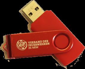 USB-Stick 2 GB mit VdF-Logo