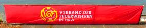 Spannband 600 x 100 cm mit VdF Logo